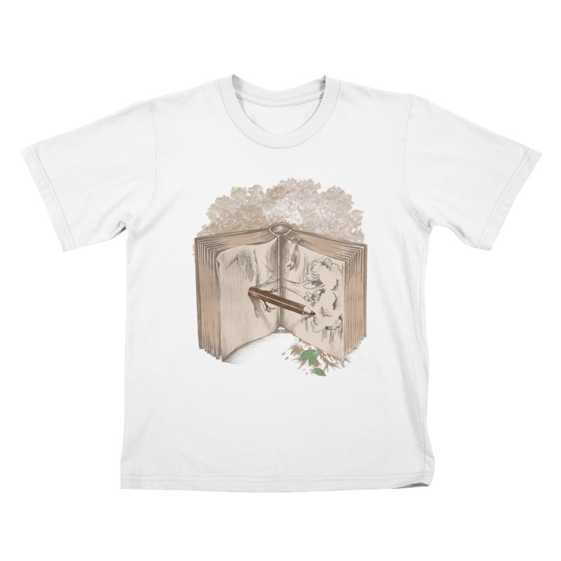 Real sketch Kids T-Shirt by jackduarte's Artist Shop