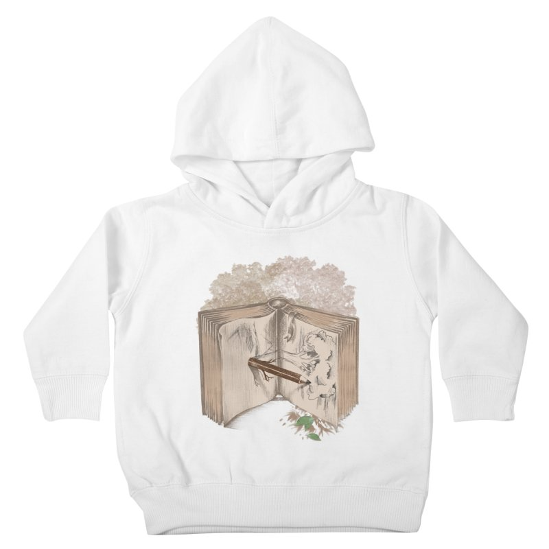 Real sketch Kids Toddler Pullover Hoody by jackduarte's Artist Shop
