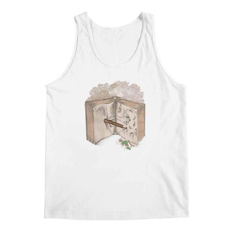 Real sketch Men's Tank by jackduarte's Artist Shop