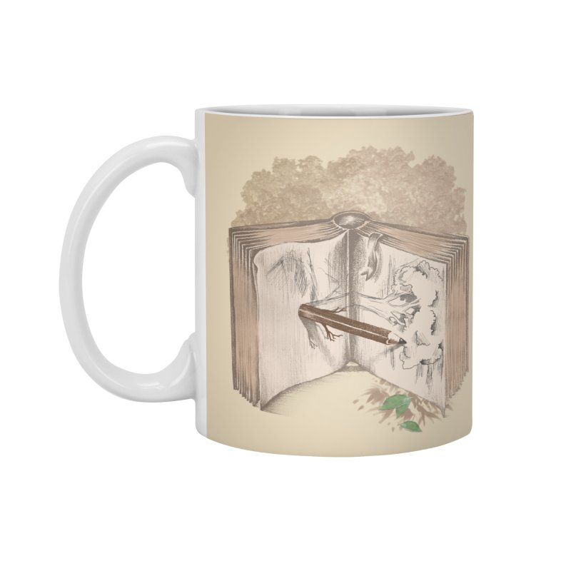 Real sketch Accessories Mug by jackduarte's Artist Shop