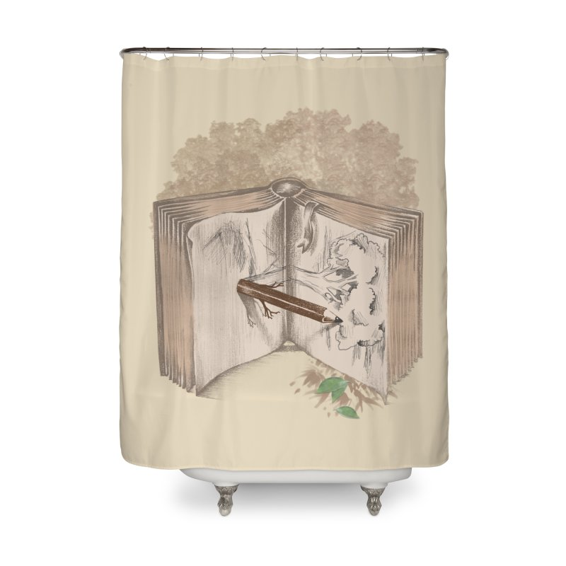 Real sketch Home Shower Curtain by jackduarte's Artist Shop