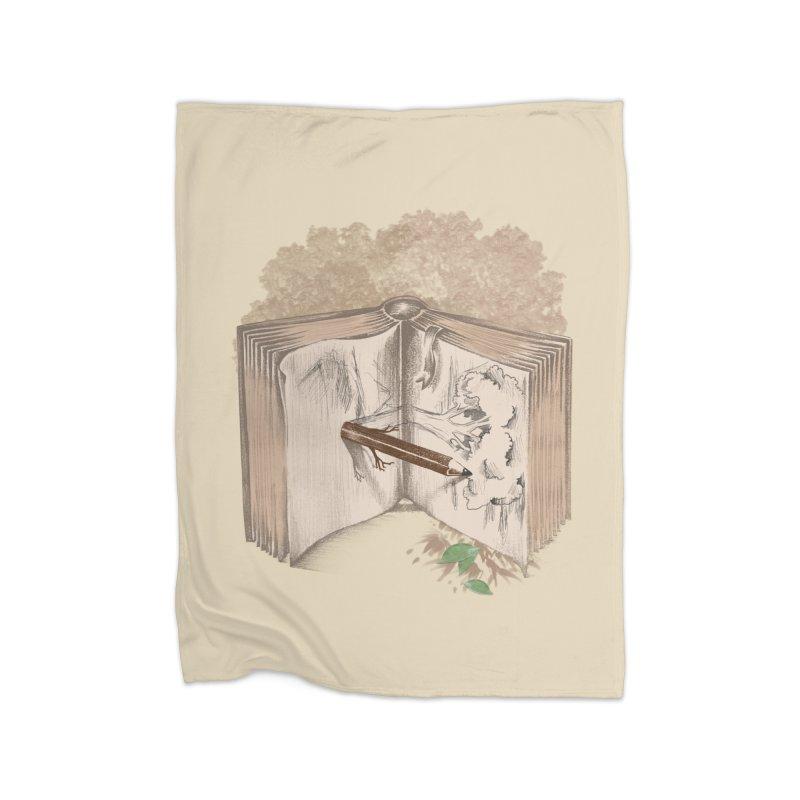 Real sketch Home Blanket by jackduarte's Artist Shop