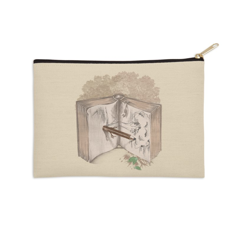 Real sketch Accessories Zip Pouch by jackduarte's Artist Shop