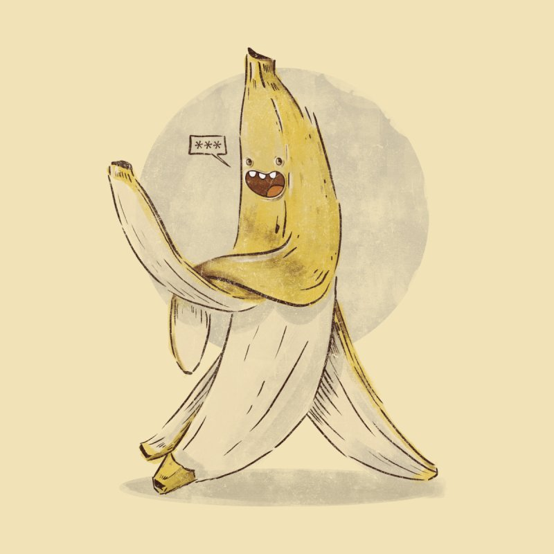 Banana for you by jackduarte's Artist Shop