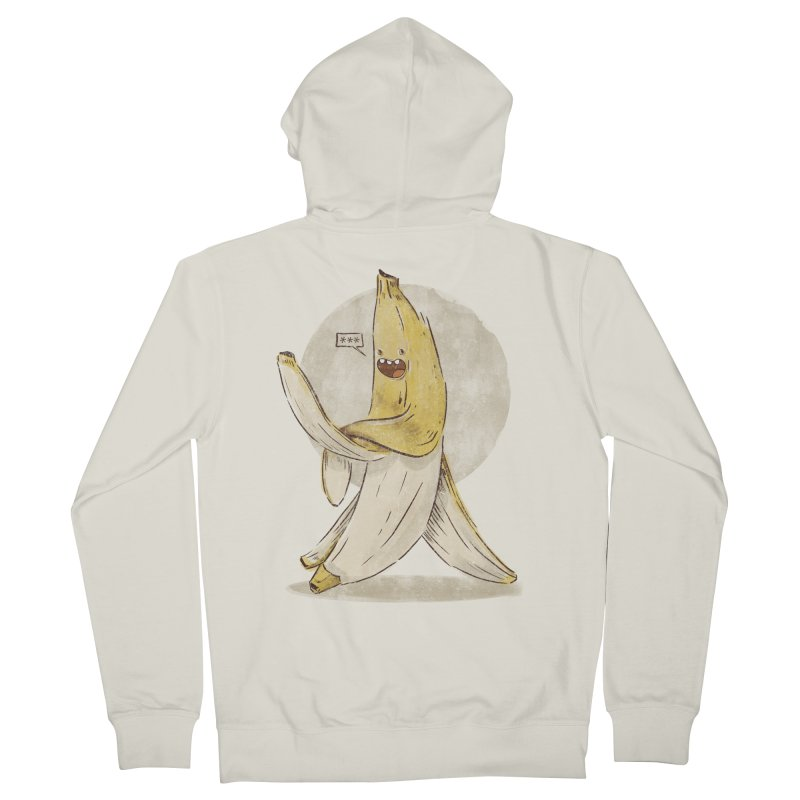Banana for you Women's French Terry Zip-Up Hoody by jackduarte's Artist Shop