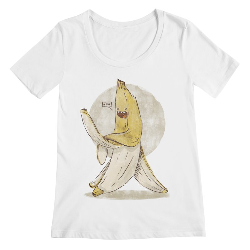 Banana for you Women's Scoopneck by jackduarte's Artist Shop