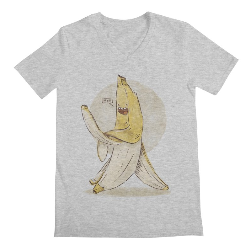 Banana for you Men's Regular V-Neck by jackduarte's Artist Shop