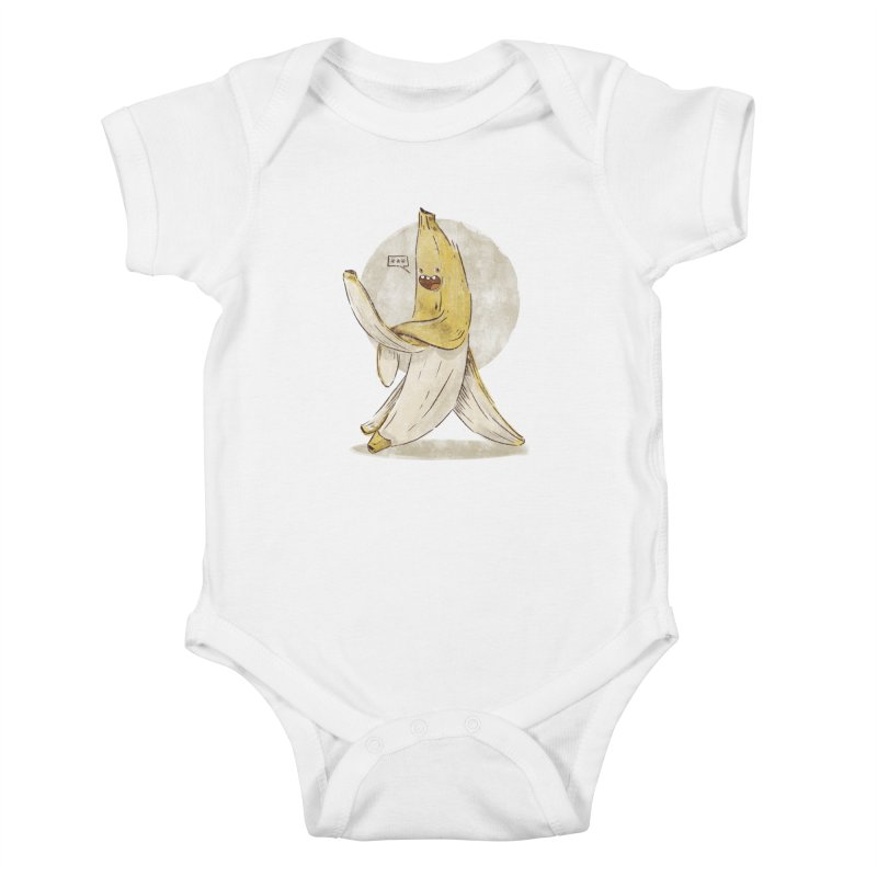 Banana for you Kids Baby Bodysuit by jackduarte's Artist Shop