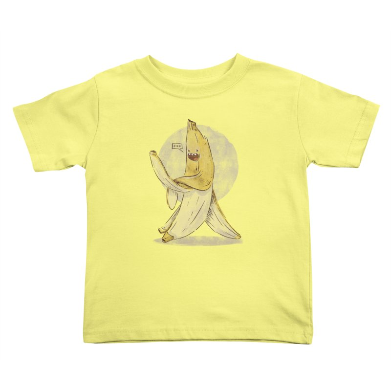Banana for you Kids Toddler T-Shirt by jackduarte's Artist Shop