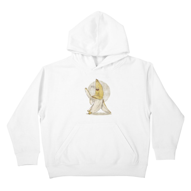 Banana for you Kids Pullover Hoody by jackduarte's Artist Shop