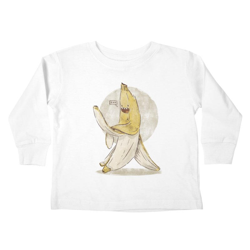 Banana for you Kids Toddler Longsleeve T-Shirt by jackduarte's Artist Shop