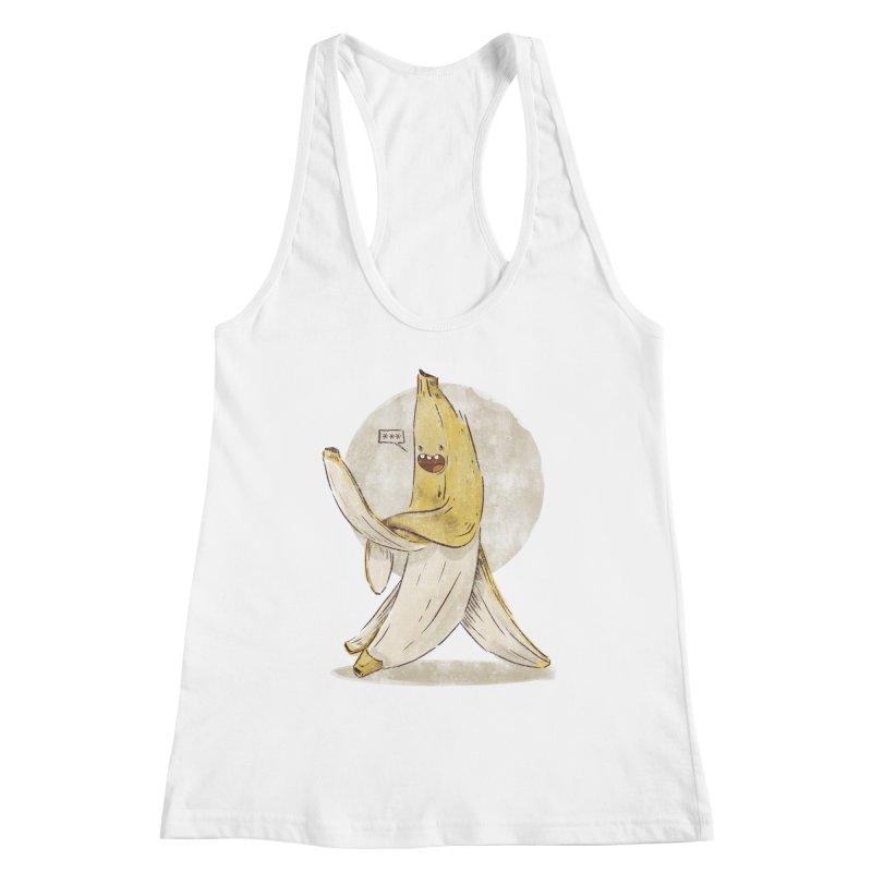 Banana for you Women's Racerback Tank by jackduarte's Artist Shop