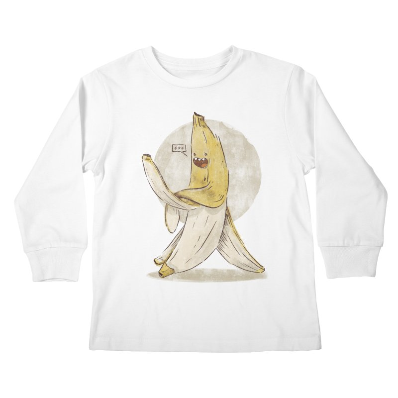 Banana for you Kids Longsleeve T-Shirt by jackduarte's Artist Shop