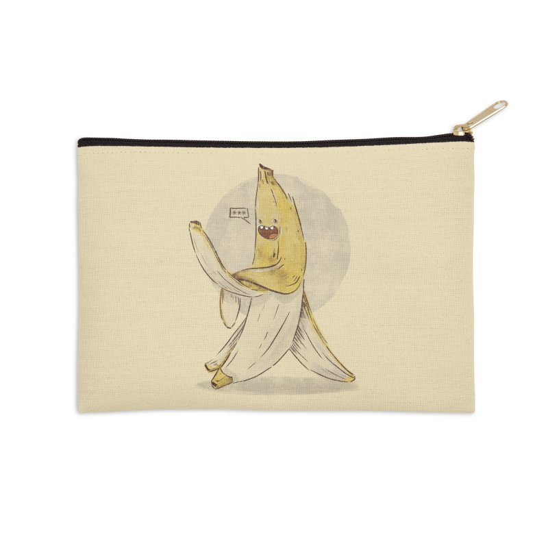Banana for you Accessories Zip Pouch by jackduarte's Artist Shop