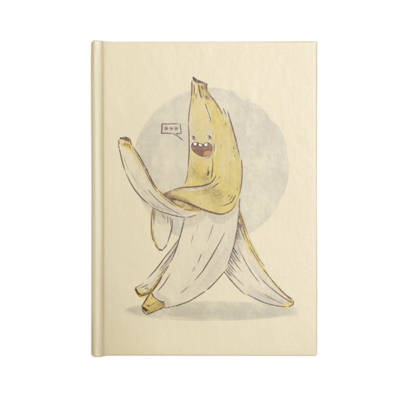 Banana for you Accessories Notebook by jackduarte's Artist Shop