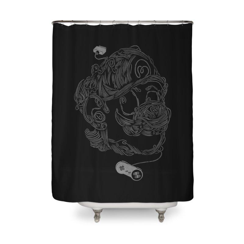 Node Bros. Home Shower Curtain by jackduarte's Artist Shop