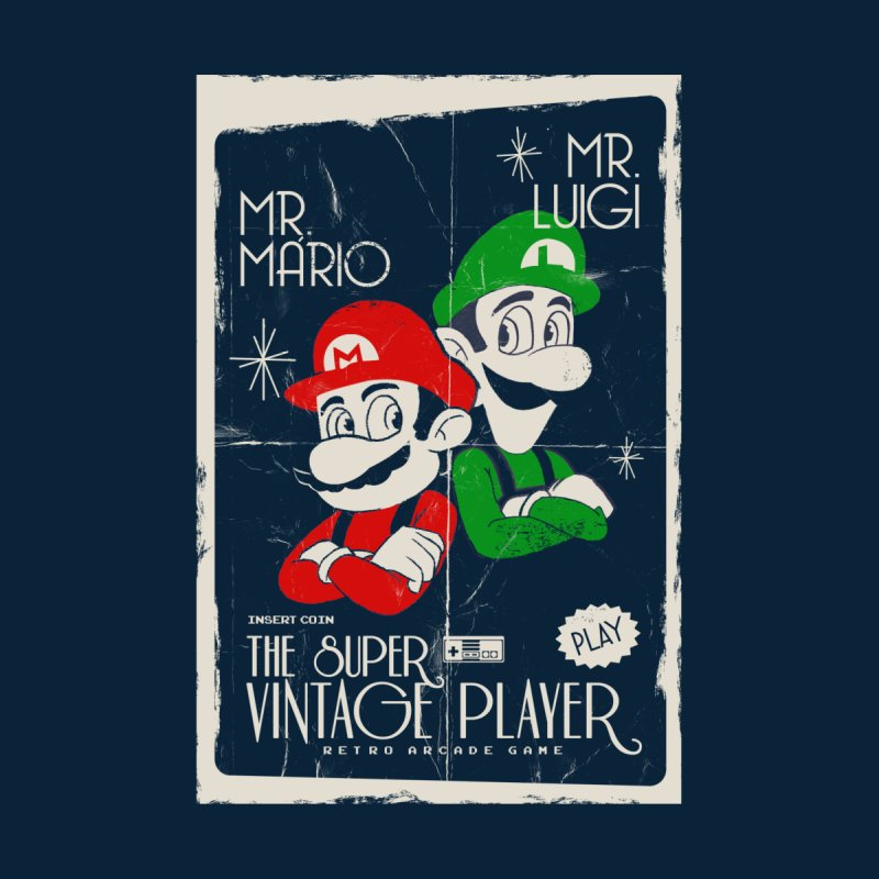Mario vintage Home Framed Fine Art Print by jackduarte's Artist Shop