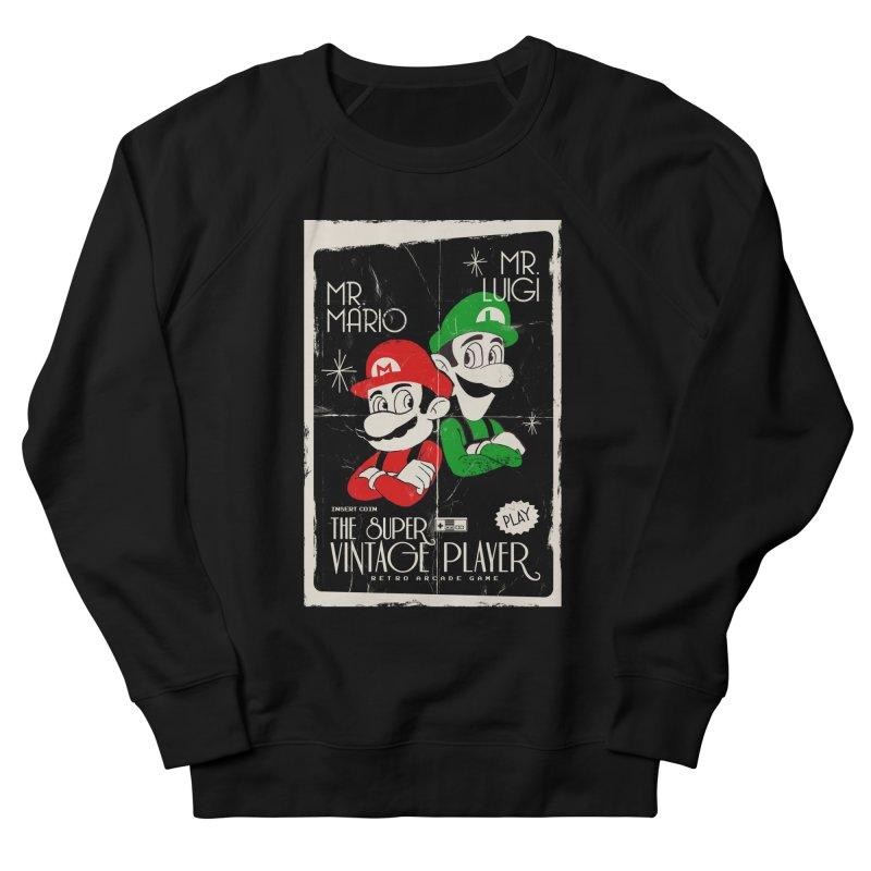 Mario vintage Men's Sweatshirt by jackduarte's Artist Shop