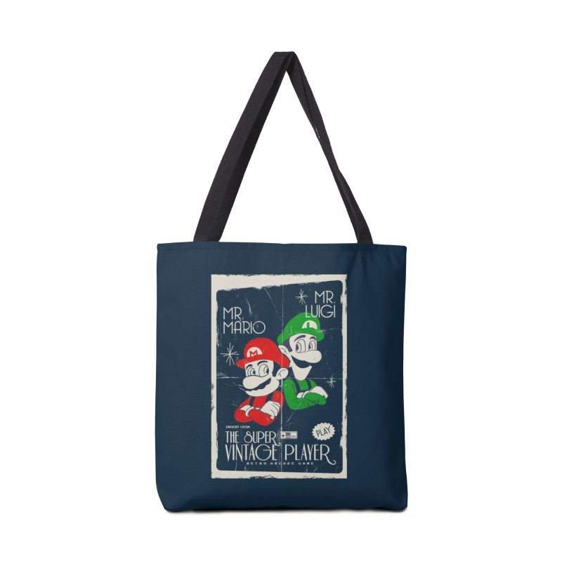 Mario vintage Accessories Bag by jackduarte's Artist Shop