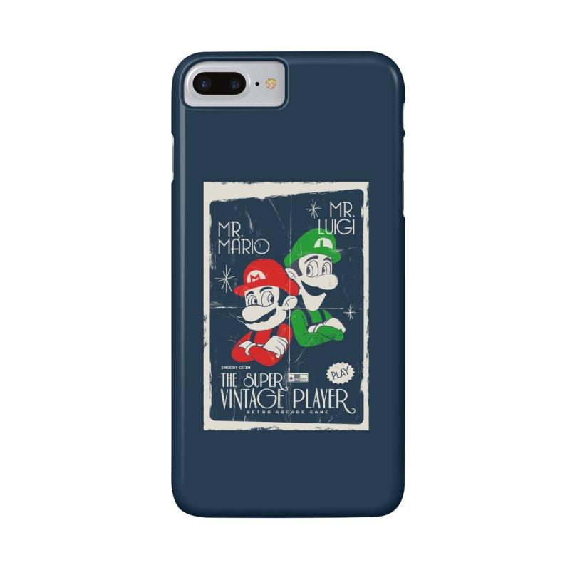 Mario vintage Accessories Phone Case by jackduarte's Artist Shop