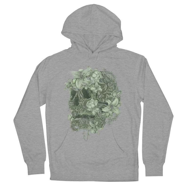 Skull  Men's French Terry Pullover Hoody by jackduarte's Artist Shop