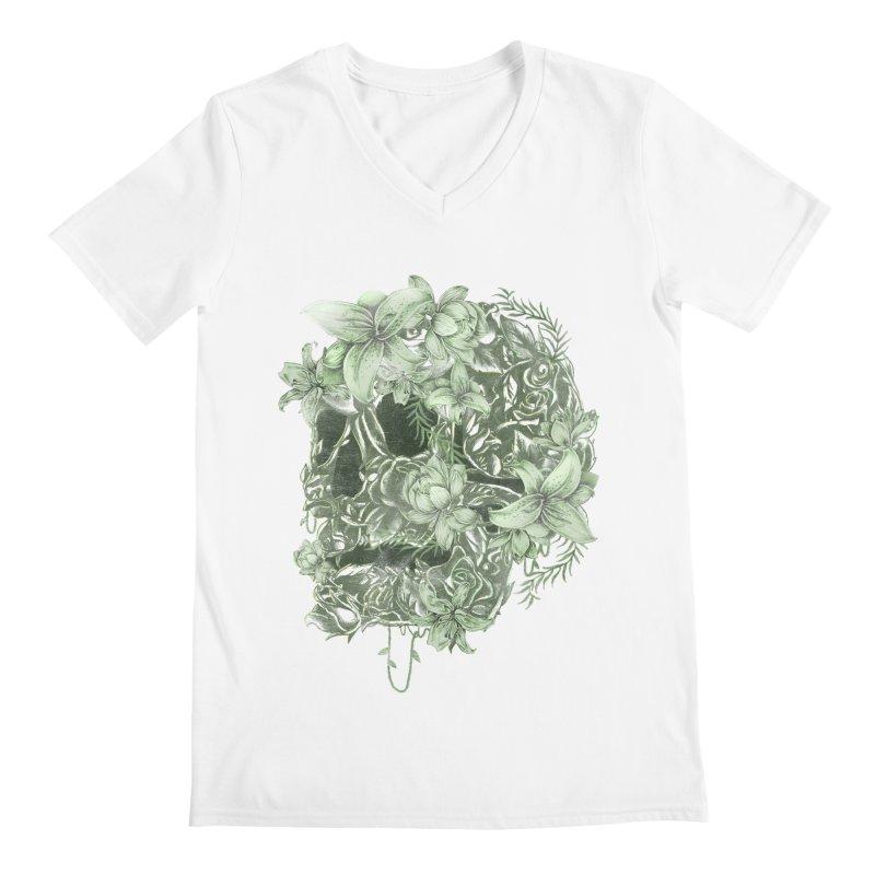 Skull  Men's V-Neck by jackduarte's Artist Shop