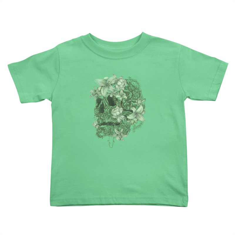 Skull  Kids Toddler T-Shirt by jackduarte's Artist Shop