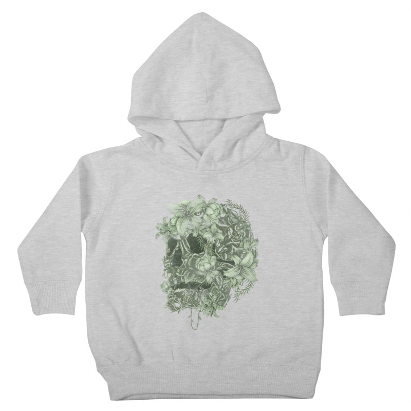 Skull  Kids Toddler Pullover Hoody by jackduarte's Artist Shop