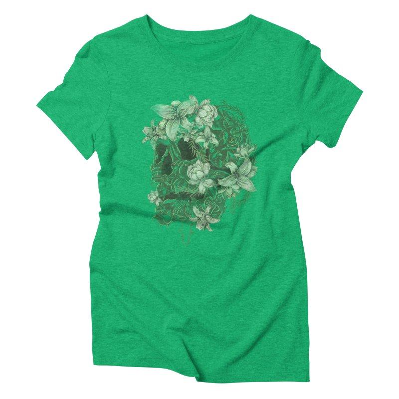 Skull  Women's Triblend T-Shirt by jackduarte's Artist Shop