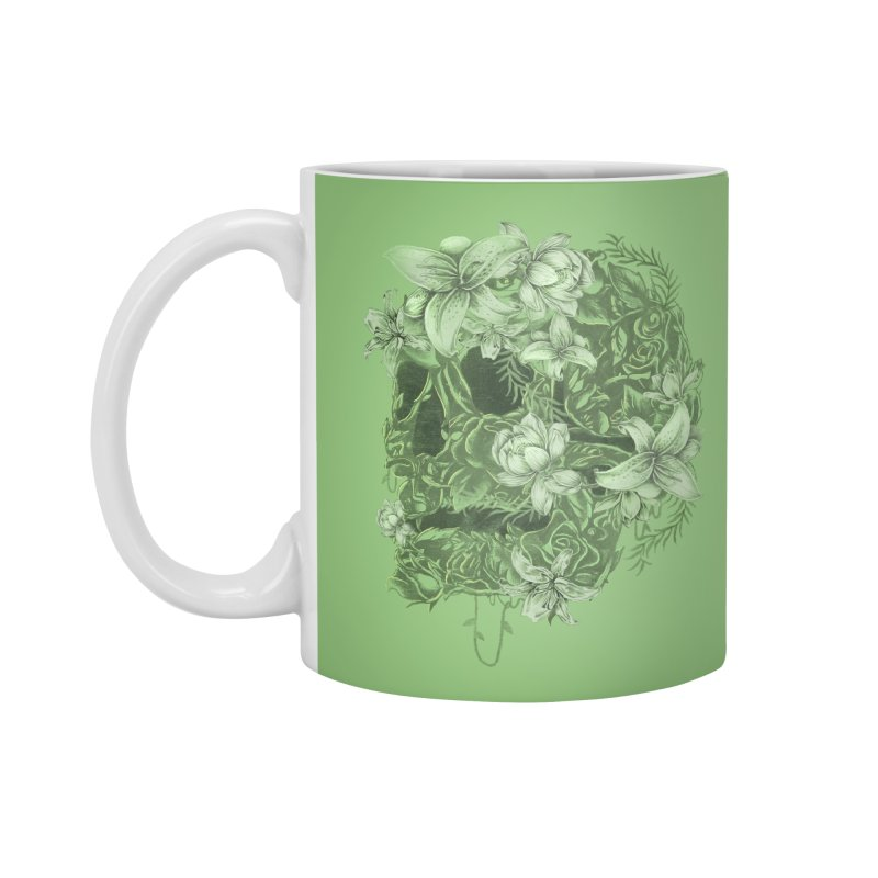 Skull  Accessories Standard Mug by jackduarte's Artist Shop