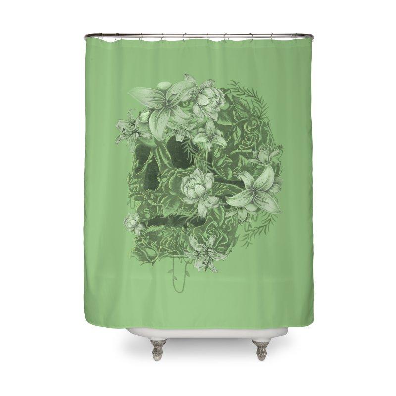 Skull  Home Shower Curtain by jackduarte's Artist Shop