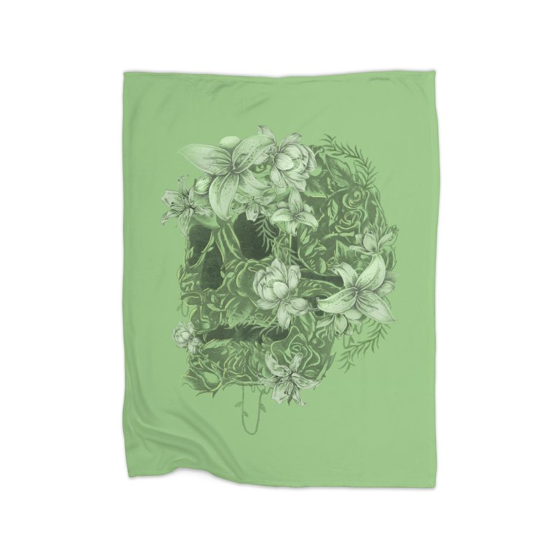 Skull  Home Blanket by jackduarte's Artist Shop