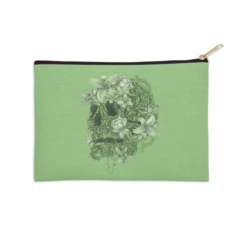 Skull  Accessories Zip Pouch by jackduarte's Artist Shop