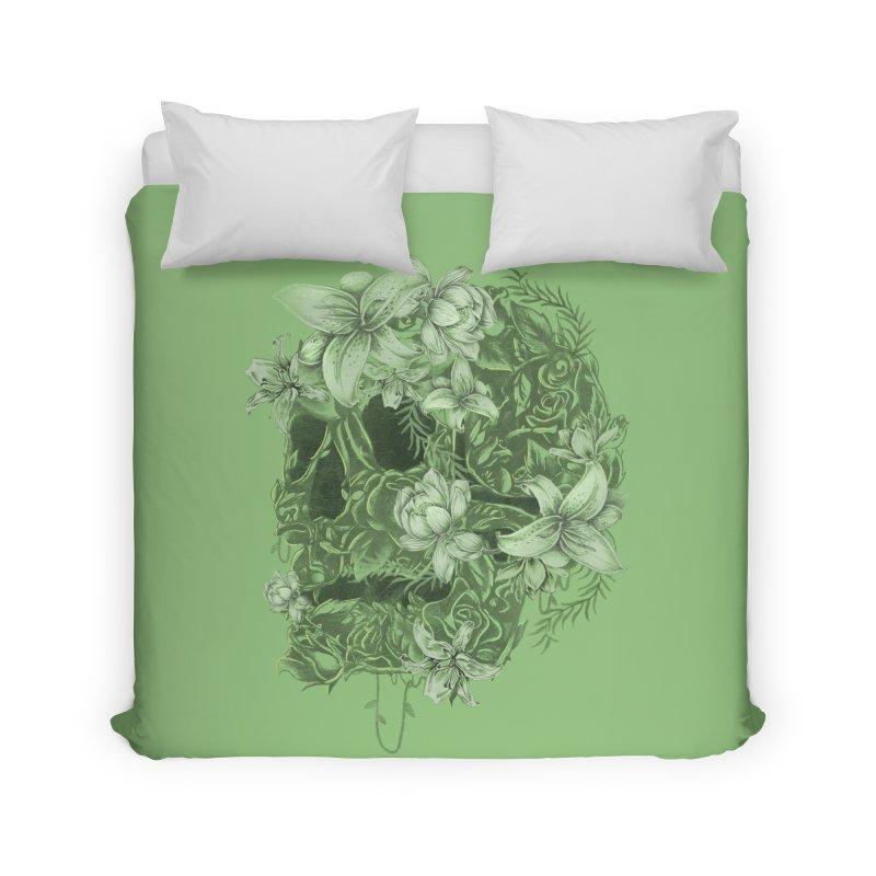 Skull  Home Duvet by jackduarte's Artist Shop