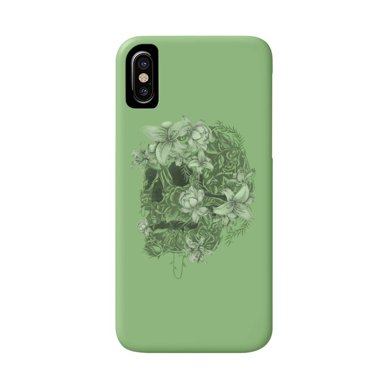 Skull  Accessories Phone Case by jackduarte's Artist Shop