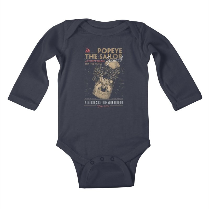 Taste it Kids Baby Longsleeve Bodysuit by jackduarte's Artist Shop