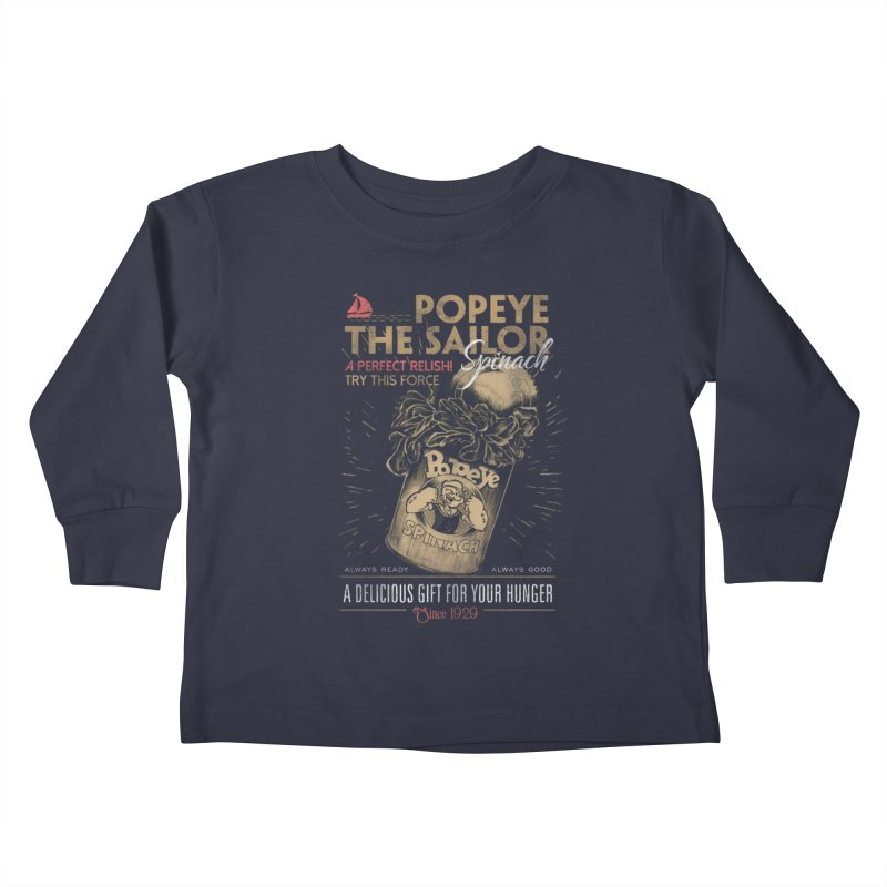 Taste it Kids Toddler Longsleeve T-Shirt by jackduarte's Artist Shop