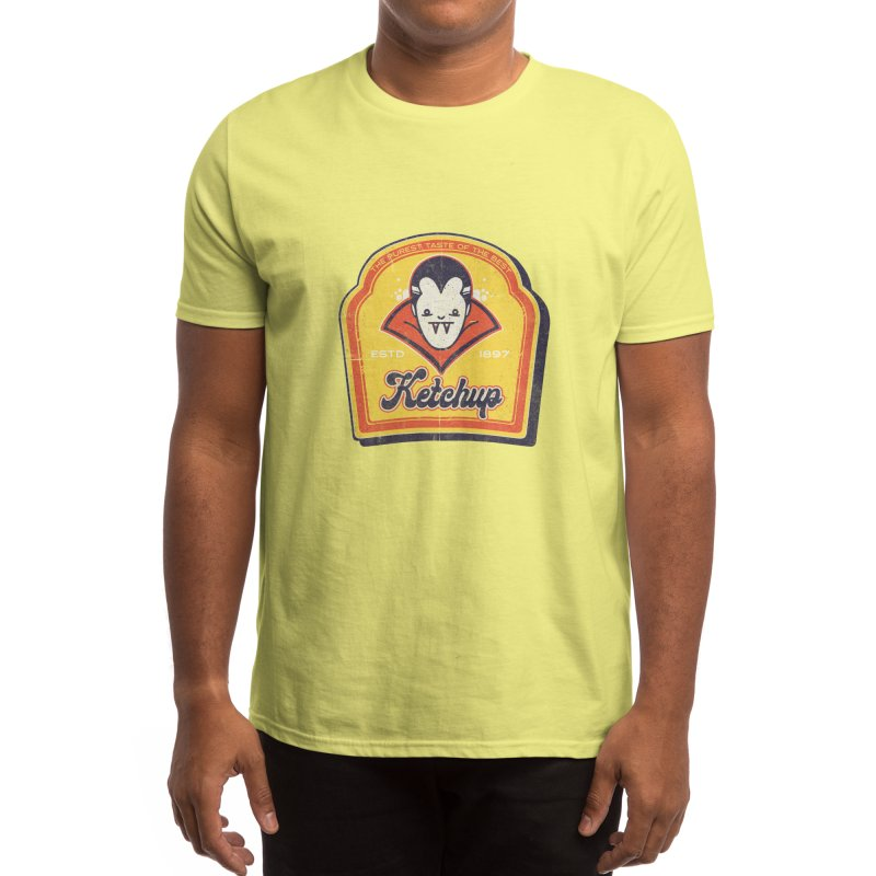 Drac Ketchup Men's T-Shirt by jackduarte's Artist Shop