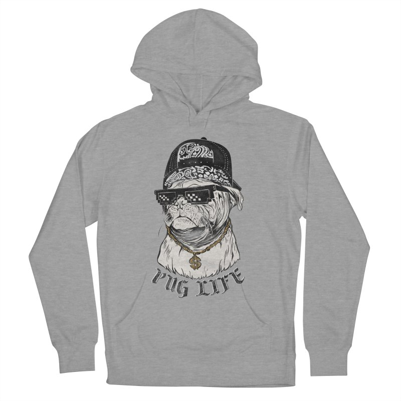 Pug life Men's Pullover Hoody by jackduarte's Artist Shop