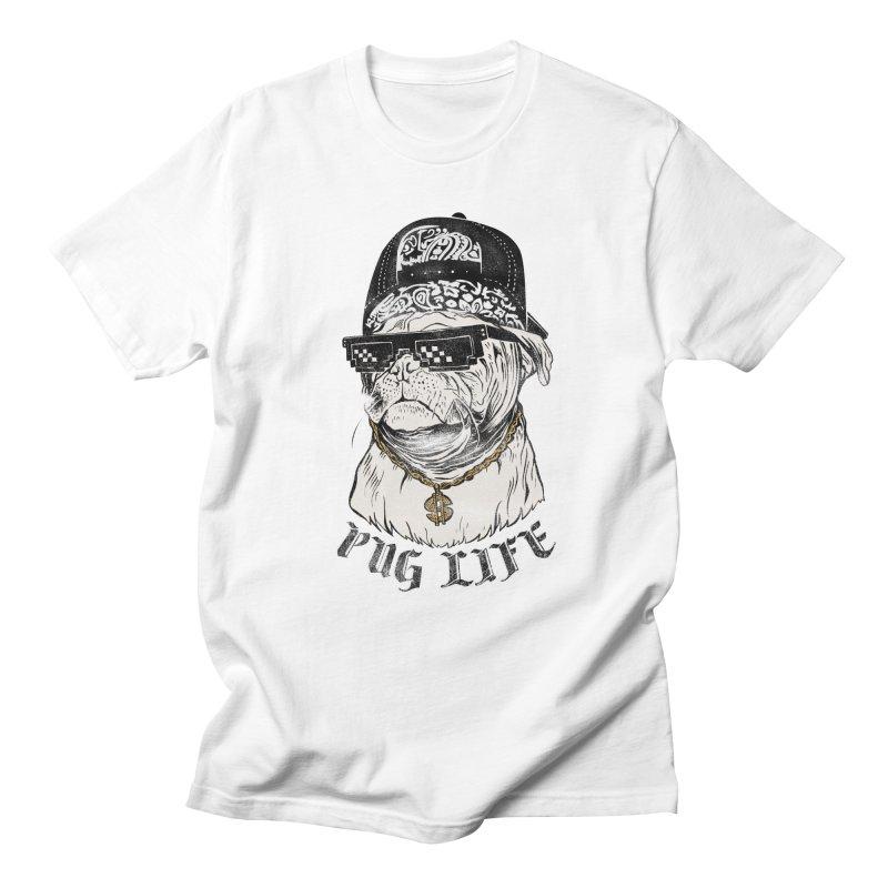 Pug life Men's Regular T-Shirt by jackduarte's Artist Shop