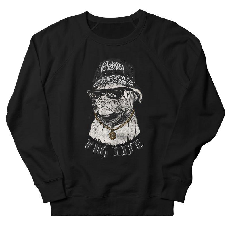 Pug life Men's Sweatshirt by jackduarte's Artist Shop