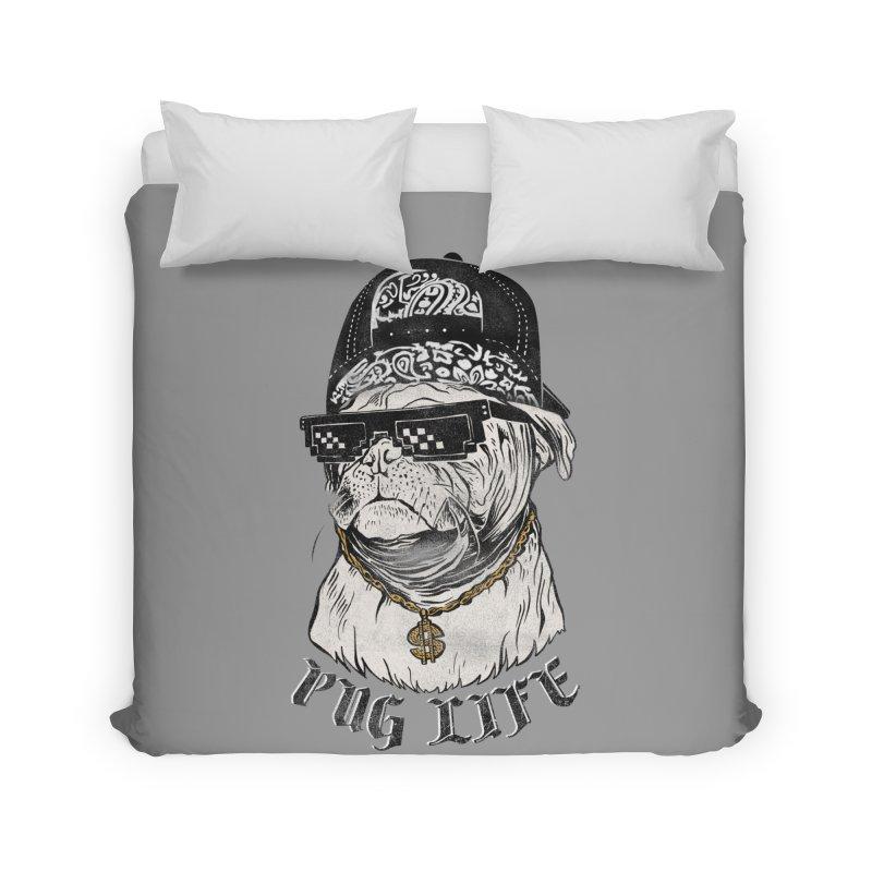 Pug life Home Duvet by jackduarte's Artist Shop