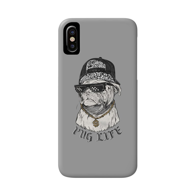 Pug life Accessories Phone Case by jackduarte's Artist Shop