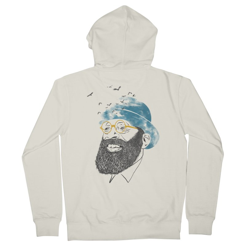 Freedom Men's French Terry Zip-Up Hoody by jackduarte's Artist Shop