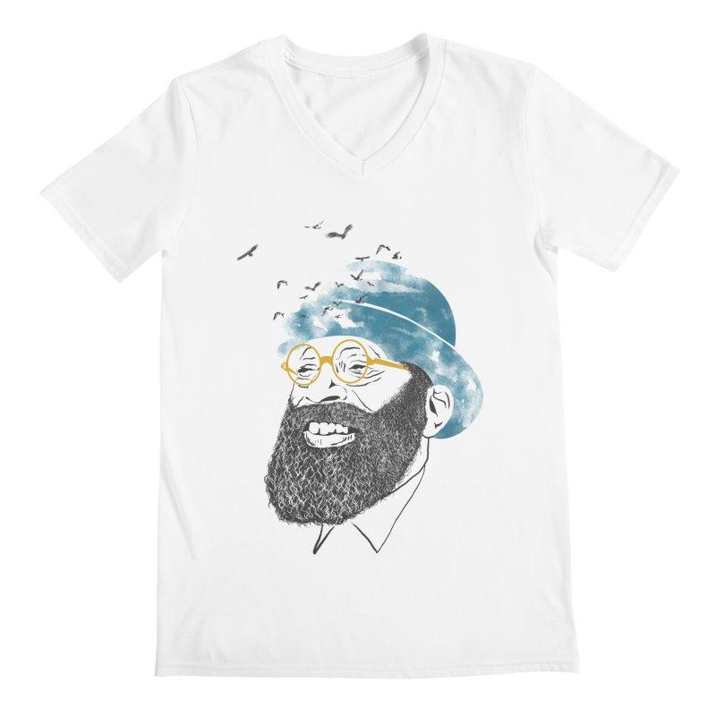 Freedom Men's V-Neck by jackduarte's Artist Shop