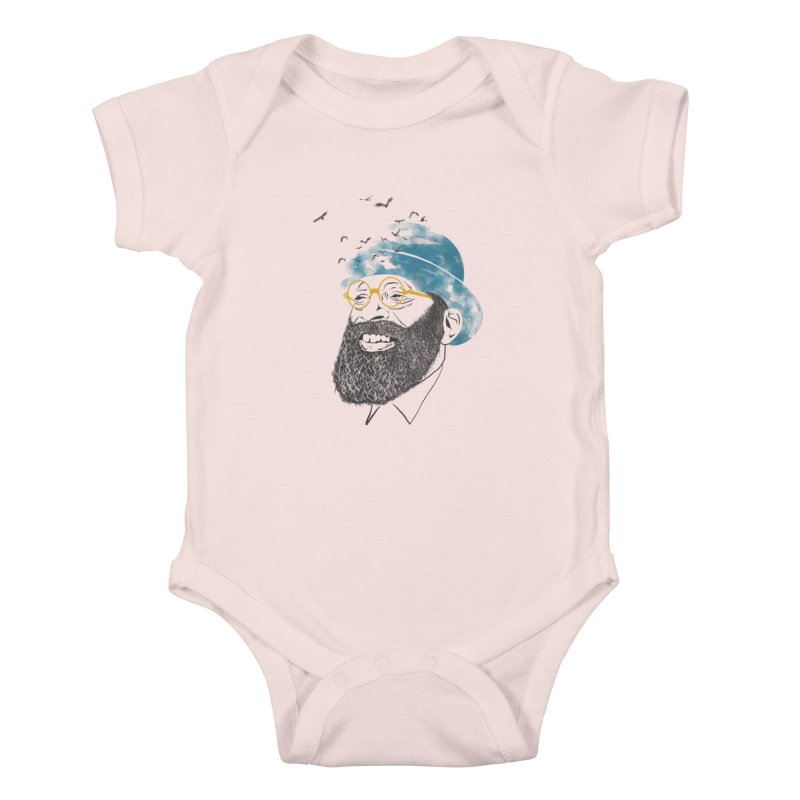 Freedom Kids Baby Bodysuit by jackduarte's Artist Shop