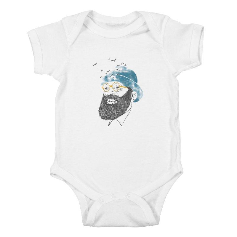 Freedom Kids Baby Bodysuit by jackduarte's Artist Shop