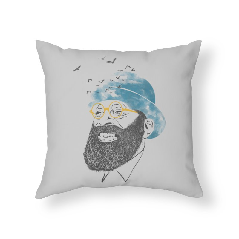 Freedom Home Throw Pillow by jackduarte's Artist Shop