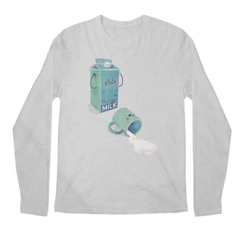 Don't cry for milk Men's Longsleeve T-Shirt by jackduarte's Artist Shop