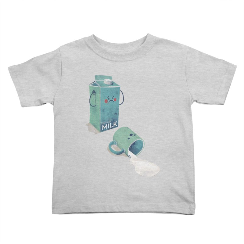Don't cry for milk Kids Toddler T-Shirt by jackduarte's Artist Shop